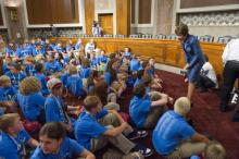 Ranking Member Collins with JDRF Delegates