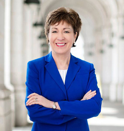 photo of Chairman Susan M. Collins